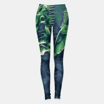 Thumbnail image of Never Forget T-Rex Leggings, Live Heroes