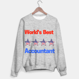 Miniature de image de  World's Best Accountant Sweater regular, Live Heroes