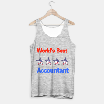 Thumbnail image of  World's Best Accountant Tank Top regular, Live Heroes