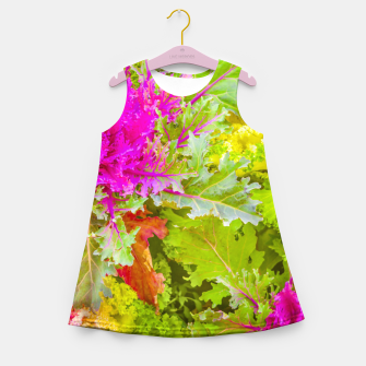 Imagen en miniatura de Colorful Nature Print Photo Girl's summer dress, Live Heroes