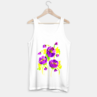 Thumbnail image of Purple Poppies Tank Top regular, Live Heroes