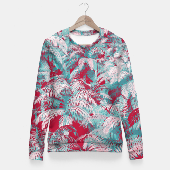 Thumbnail image of Jungle Cool Woman cotton sweater, Live Heroes