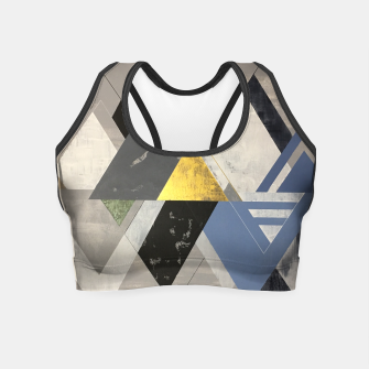 Miniature de image de Triangle Crop Top, Live Heroes