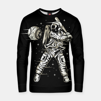 Miniaturka Space baseball Cotton sweater, Live Heroes