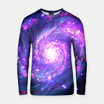 Miniaturka Ultra Violet Whirlpool Galaxy Cotton sweater, Live Heroes