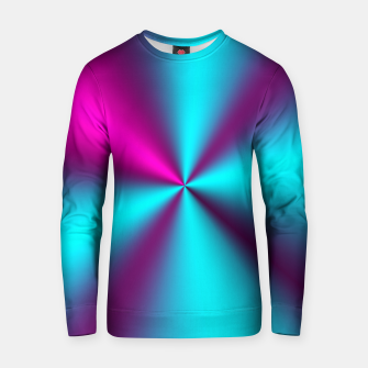 Violet Illusion silk waves Cotton sweater obraz miniatury