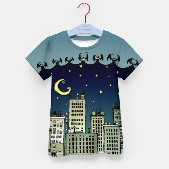 Thumbnail image of The Nightbringers Kid's t-shirt, Live Heroes