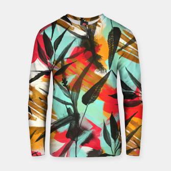 Thumbnail image of abstract paint and plants Sudadera de algodón, Live Heroes