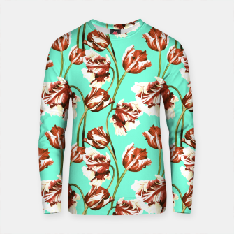 Thumbnail image of Floral pattern with tulips watercolor Sudadera de algodón, Live Heroes