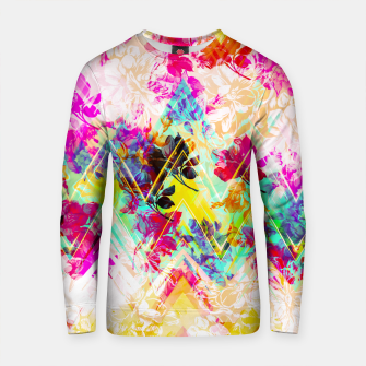 Thumbnail image of Spring Floral with geometric Sudadera de algodón, Live Heroes