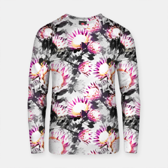 Thumbnail image of Floral pattern protea Sudadera de algodón, Live Heroes