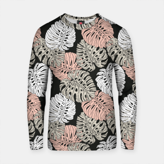 Thumbnail image of Monstera in the darkness of the jungle Sudadera de algodón, Live Heroes