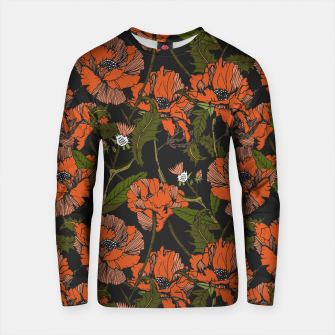 Thumbnail image of Autumnal flowering of poppies Sudadera de algodón, Live Heroes