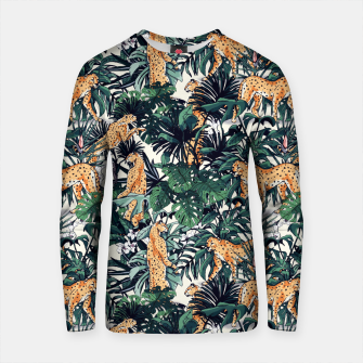 Thumbnail image of Leopards in the wild jungle Sudadera de algodón, Live Heroes