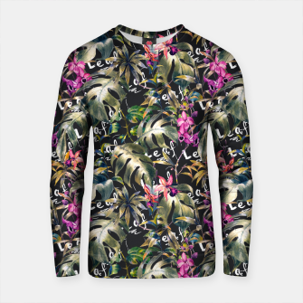 Thumbnail image of The leaves in the florid jungle Sudadera de algodón, Live Heroes