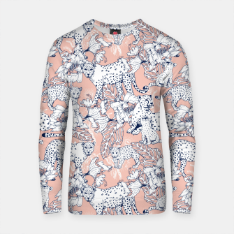 Thumbnail image of Leopards in the pink jungle Sudadera de algodón, Live Heroes