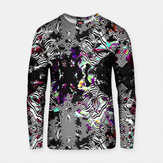 Thumbnail image of Strokes and abstract shapes on lines Sudadera de algodón, Live Heroes