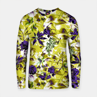 Thumbnail image of Abstract vibrant floral I Sudadera de algodón, Live Heroes
