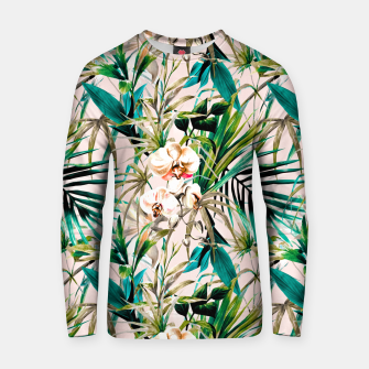 Thumbnail image of Pattern floral tropical 001 Sudadera de algodón, Live Heroes