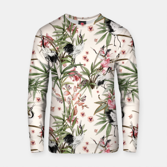 Thumbnail image of Cranes in the Asian nature Sudadera de algodón, Live Heroes