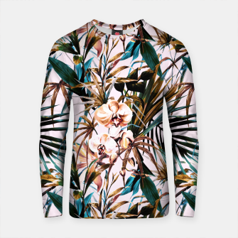 Thumbnail image of Pattern floral tropical 002 Sudadera de algodón, Live Heroes