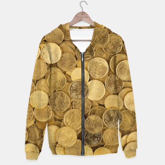 Euromonies Cotton zip up hoodie thumbnail image