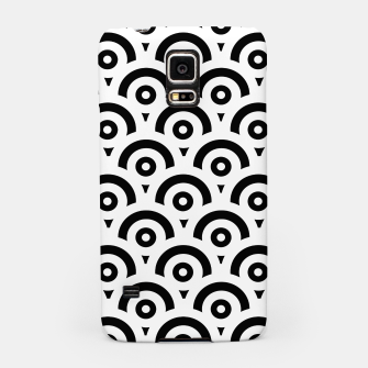 Imagen en miniatura de Abstract pattern - black and white. Samsung Case, Live Heroes