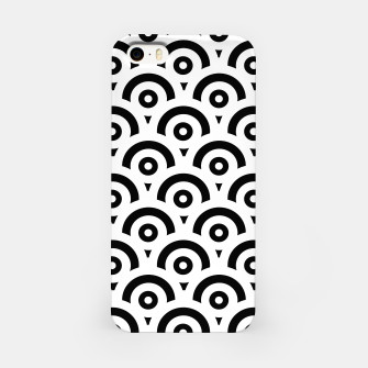 Imagen en miniatura de Abstract pattern - black and white. iPhone Case, Live Heroes