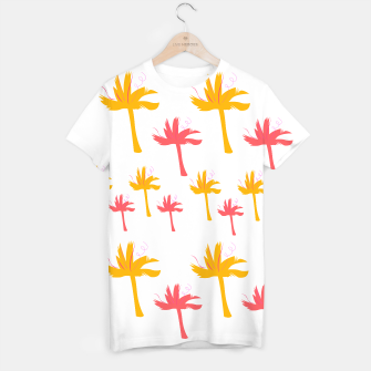 Miniatur Tshirt with design Gold Palms, Live Heroes