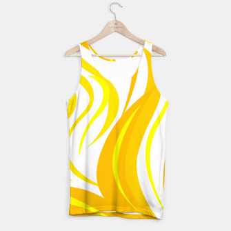 Thumbnail image of Tank top gold zebra with white, Live Heroes