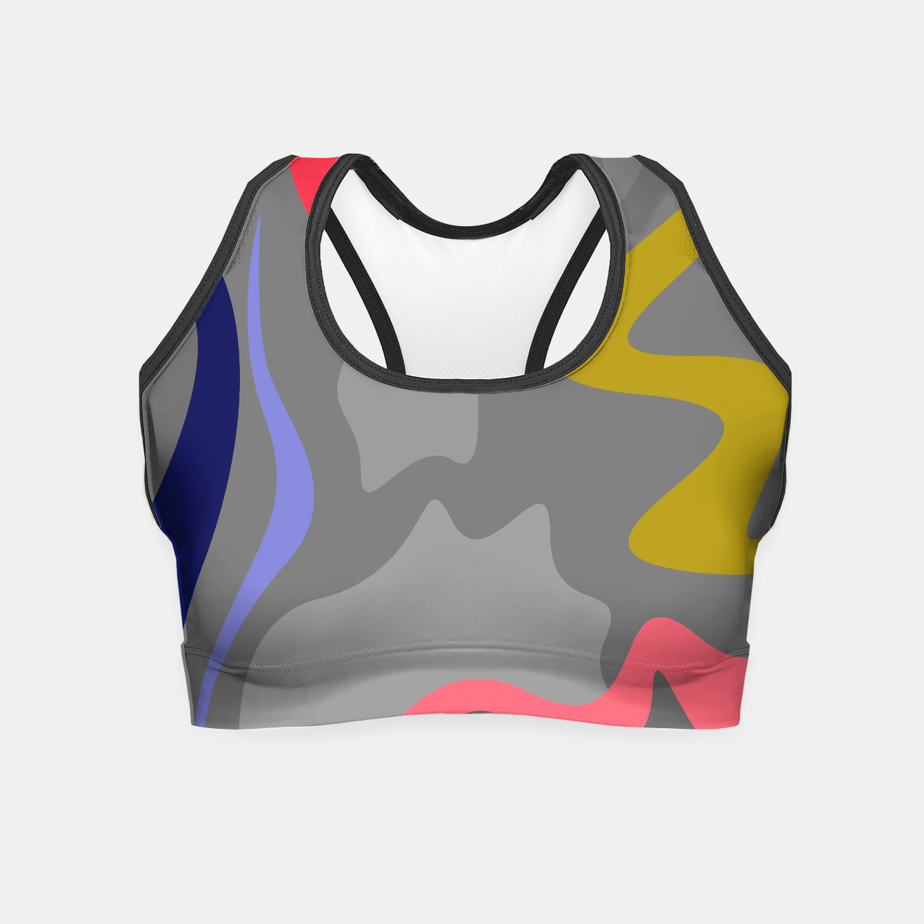 Image of Sporty crop top silver - Live Heroes