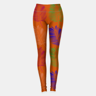 Imagen en miniatura de Leggings exotic leaves Bio, Live Heroes