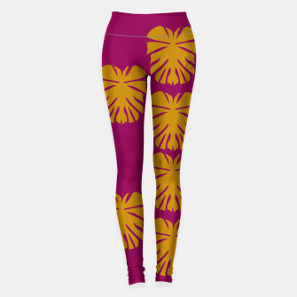 Imagen en miniatura de Leggings exotic leaves gold, Live Heroes