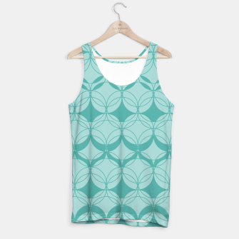 Thumbnail image of Abstract pattern - turkiz. Tank Top, Live Heroes