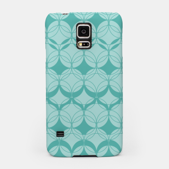 Imagen en miniatura de Abstract pattern - turkiz. Samsung Case, Live Heroes