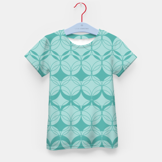 Imagen en miniatura de Abstract pattern - turkiz. Kid's t-shirt, Live Heroes