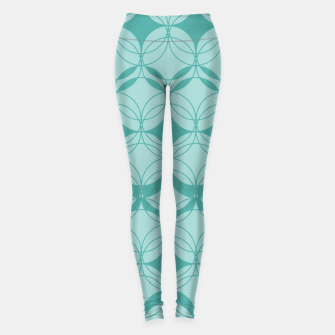 Imagen en miniatura de Abstract pattern - turkiz. Leggings, Live Heroes