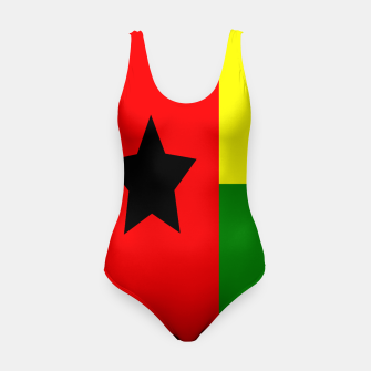 Miniatur Flag of Guinea-Bissau  Swimsuit, Live Heroes