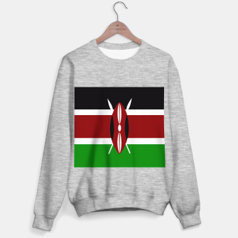 Miniature de image de Flag of Kenya  Sweater regular, Live Heroes