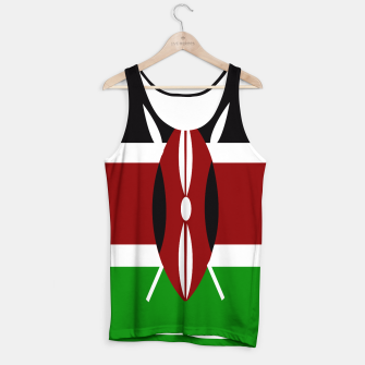 Thumbnail image of Flag of Kenya  Tank Top, Live Heroes