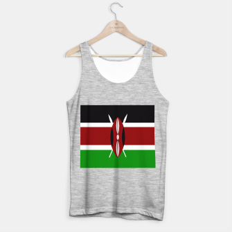 Thumbnail image of Flag of Kenya  Tank Top regular, Live Heroes