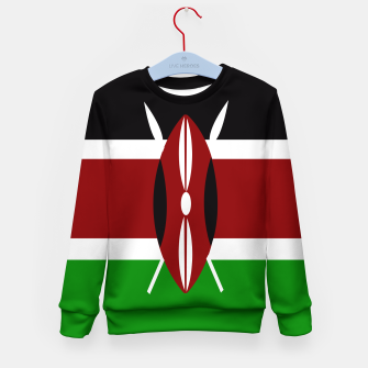 Miniature de image de Flag of Kenya  Kid's sweater, Live Heroes