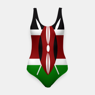 Miniatur Flag of Kenya  Swimsuit, Live Heroes