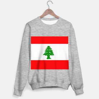 Miniature de image de Flag of Lebanon  Sweater regular, Live Heroes