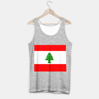 Thumbnail image of Flag of Lebanon  Tank Top regular, Live Heroes