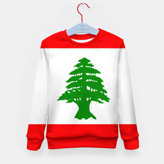 Miniature de image de Flag of Lebanon  Kid's sweater, Live Heroes
