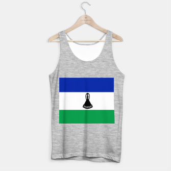 Thumbnail image of Flag of Lesotho Tank Top regular, Live Heroes