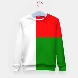 Miniature de image de Flag of Madagaskar  Kid's sweater, Live Heroes