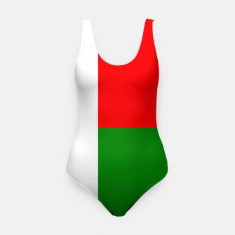 Miniatur Flag of Madagaskar  Swimsuit, Live Heroes