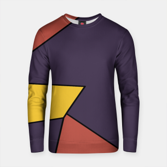 Imagen en miniatura de geometric pattern abstract background in red blue and yellow Cotton sweater, Live Heroes
